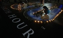Earth Hour (ilustrasi)