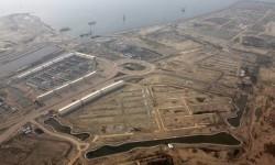 Aerial views of Jakarta bay reclamation island, Thursday (May 11).