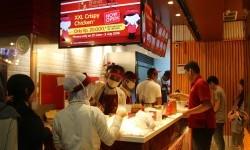 Gerai jajanan street food Taiwan Shihlin di Grand Indonesia, Jakpus.