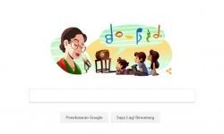 Google doodle peringatan kelahiran Ibu Soed