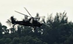Helikopter buatan Cina (ilustrasi).