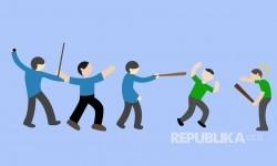 Ilustrasi Bentrok Ojek Online dengan Angkot