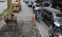 Infrastruktur jalan (ilustrasi)