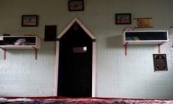 Interior bagian dalam Masjid Broken Hill, salah satu yang tertua di Australia.