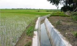 Irigasi pertanian, ilustrasi