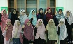 Kajian muslimah di Masjid Alumni IPB Bogor.