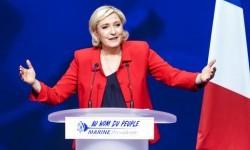 Kandidat presiden sayap kanan Prancis Marine Le Pen.