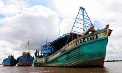 Kapal nelayan (ilustrasi).