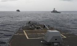 Kapal perang AS di Laut Cina Selatan