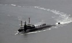 Kapal selam AS bertenaga nuklir, USS Michigan.