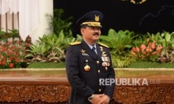 Indonesian Air Force Chief of Staff Marshal Hadi Tjahjanto