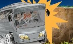 Bus accident (illustration)