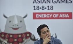 Ketua Panitia Penyelenggaraan Asian Games 2018 (Inasgoc) Erick Thohir.