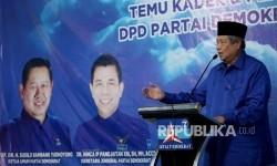 Ketua Umum Partai Demokrat Susilo Bambang Yudhoyono.