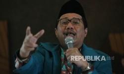 Ketua Umum Pengurus Pusat Persaudaraan Muslimin Indonesia (PP PARMUSI), Usamah Hisyam.