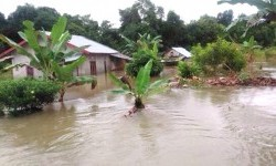 A flash flood, triggered by incessant heavy rains since Saturday until early Sunday morning, inundated numerous villages in the districts of Belitung and East Belitung in Belitung Island on Sunday (July 17) morning.