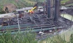 Kondisi instalasi sumur pengeboran panas bumi (ilustrasi)