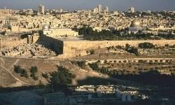Kota Yerusalem, Palestina.