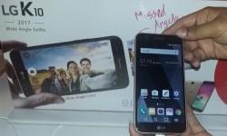 LG K10 memberikan fasilitas selfie lebih baik