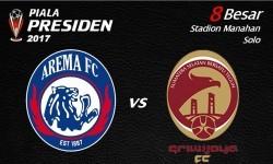 logo Arema FC vs Sriwijaya FC.