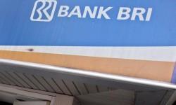 Logo of Bank BRI (file photo)