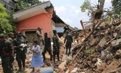 Flooding and landslides hit Sri Lanka on Saturday.