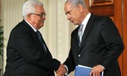 mahmoud abbas dan netanyahu