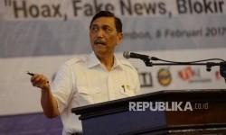 Indonesian Maritime Coordinating Minister Luhut Binsar Pandjaitan