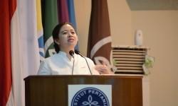 Menteri Koordinator Pembangunan Manusia dan Kebudayaan (Kemenko PMK), Puan Maharani.
