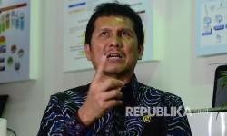 Menteri Pendayagunaan Aparatur negara dan Reformasi (PANRB) Asman Abnur. (Republika/Edi Yusuf)