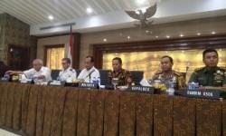 Menteri Perhubungan Budi Karya Sumadi hadiri sosialisasi hasil revisi Peraturan Menteri No. 36 Tahun 2016 di ruang Akhlakul Karimah, Kantor Pemerintah Kota Tangerang, Tangerang, Banten, pada Sabtu (25/4) sore.