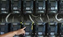 Meteran listrik (ilustrasi).