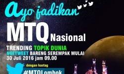 MTQ Nasional di Lombok.