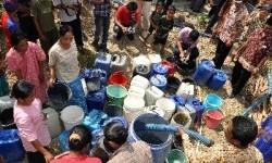 Krisis air bersih (ilustrasi).