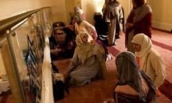 Muslimah di South Jersey tengah mengikuti kajian keagamaan di Islamic Center South Jersey, Amerika Serikat (Ilustrasi)