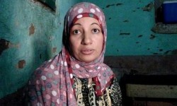 Najwa, wanita Mesir yang dituduh berselingkuh.
