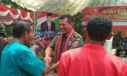 Pangdam XVI/ Pattimura Mayjen TNI Doni Monardo