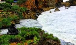 Pantai Ngobaran Gunungkidul.