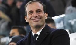Pelatih Juventus, Massimilliano Allegri.