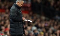 Pelatih Manchester United, Jose Mourinho.