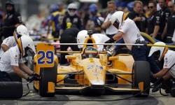 Pembalap McLaren Honda Andretti Fernando Alonso.