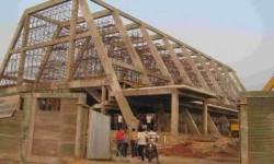 Pembangunan gereja (ilustrasi).