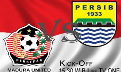 Persepam Madura United vs Persib Bandung