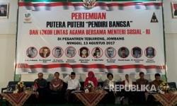 Pertemuan putera puteri pendiri bangsa