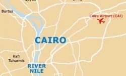 Peta Kairo, Mesir,