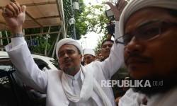 Pimpinan Front Pembela Islam (FPI) Habib Rizieq Shihab