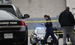 Penembakan di Maryland (ilustrasi)