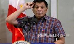 Philippine's President Rodrigo Duterte.