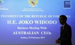 Presiden Joko Widodo berada di Australia sejak Sabtu (25/2) untuk membahas sejumlah agenda.