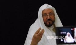 Prof. Syekh Sulaiman Al-Bierah guru dari Imam Masjidil Haram (Syekh abdurrahman As Audais).